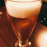 燻製ダイニングGAGA - ビールで乾杯♪