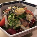 和膳と酒肴 廚 - 海鮮サラダ 2016.12再訪