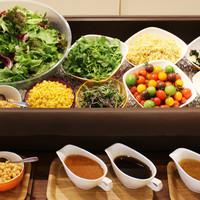 【11~15時迄】農園野菜のビュッフェ【ランチメニュー全品サラダバー&ライス食べ放題付】