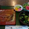 大谷屋食堂 - 料理写真:うな重¥2700、肝吸い、漬物、サラダ付き