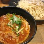 つけ麺本丸 - 辛つけ麺 800円