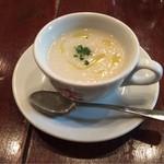 ピッツア ダ バッボ - 大根のスープ