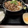 吉野家 - 料理写真:牛すき鍋膳650円