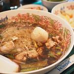 タイ国料理 ゲウチャイ - センレック ナムトック ムー