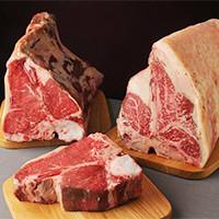 軽めの熟成期から長期熟成まで、その時々の牛肉の旨みをご堪能