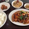 四川餃子房 - 料理写真:鶏肉とナスの辛味炒め