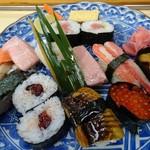 的寿し - 料理写真:上寿司(アップ)