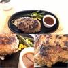 グリルキング - 料理写真:ハンバーグレギュラー(150g)+ドリンクバー240円