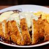 からめ亭 - 料理写真:でらチキンカツスパM+チーズ