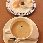 ビストロ レスカリエ - 食後のコーヒー
