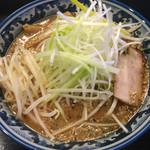 麺処 輝 - 161202味噌ネギラーメン¥850