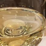 ラ・センサスィオン - 白ワインをいただきました♪