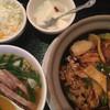 紅虎餃子房 - 料理写真:中華飯とラーメンのランチセット