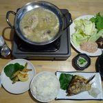 野良の水炊き 曲渕 - 料理写真: