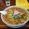 まるた食堂 - 料理写真:しいたけ味噌ラーメン680円