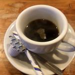 とんかつ ひやま - 食後のコーヒーです