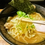 麺屋武一 - 麺アップ