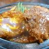 キッチン谷沢 - 料理写真:ハンバーグと海老クリームコロッケ