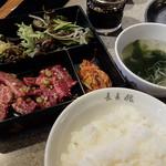 長春館 - ミックス定食1,200円