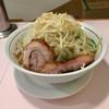 成蹊前ラーメン - 料理写真:ラーメン極太麺 野菜増し