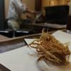 ほり井 - 料理写真:カリカリ海老脚。とても良い揚げ具合。