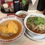 餃子の王将 - 天津炒飯&ラーメン