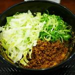 湯島ひよこ堂 - 汁なし担担麺 麺100g単品¥650