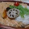 信濃屋 - 料理写真:オーロラサーモンの華麗なカレー 750円