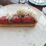 サロン・ド・テ・ロンド - 苺のタルト