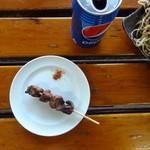 たぬきや - 焼き鳥 おまかせでカシラ、レバー、カワ
