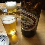 丸大ホール - ビールで乾杯