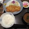 とんかつ稲 - 料理写真:とんかつ定食(税別780円)