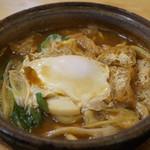 す奈は - 料理写真:味噌煮込み(玉子)(780円)