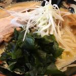 北海道らぁ麺 ひむろ - ワカメ