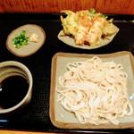 勝迹庵 - 料理写真:もりうどん(天付き)