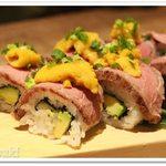 59940910 - 牛肉とウニの秋葉原ロール