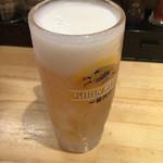 59943112 - 生ビール〜(^_、-)/一杯目¥250円