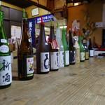 瓢亭 - ドリンク写真:試飲酒は12種