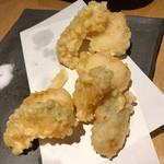 夜咄 にのまる - 天ぷら   甘鯛と野菜   甘鯛美味ですね。