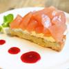 レ・グラン・ザルブル - 料理写真:りんごとレモンのタルト