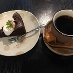Cafe こはるぞら - 口どけガトーショコラ  しっとりとした食感が◎  2016/12/11