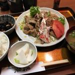 赤坂 若狭 - 生姜焼き定食