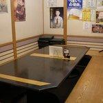 中華酒膳 幸龍 - (2010/11月)宴会用の個室(堀こたつ)