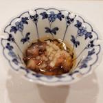 鮨 福原 - 料理写真:佐島の赤なまこ酢