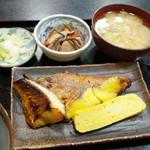 魚谷 - あこう鯛の西京焼(820円)