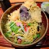 さぬきや - 料理写真:冷やし天ぷらうどん
