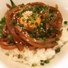 離島キッチン - 料理写真:寒シマメ丼(イカの漬け丼)