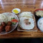 味の壺平 - ザンギ定食