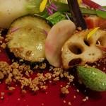 60019949 - 浅野さん 高さん 野菜