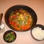 J渋谷 - 坦々麺セット